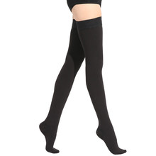 23~32mmHg Men and Woman Thigh High Medical Compression Stockings for Varicose Veins