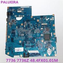 PALUBEIRA для acer Aspire 7736 7736Z Материнская плата ноутбука MBPJA01002 JV71-MV MB 48.4FX01.01M с чипами видеокарты протестированы работы