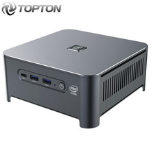 10th Gen Intel Core Mini PC i9 10880H i7 10750H i5 10300H Windows 10 Linux 2 * DDR4 2 * M.2 2 * Lan WiFi DP HDMI 4K Computer HTPC NUC