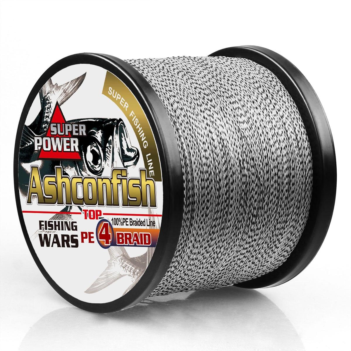 Braided Fihing Line 0.06mm 0.08mm 0.1mm Super Braided Wire Fishing String 2LB 4LB 6LB 100LB 4 Strands 500M 1000M 1500M 2000M