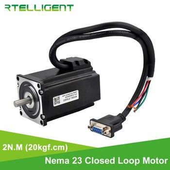 Rtelligent Nema 23 Closed Loop Stepper Motor 2N.M 20kgf.cm 4.0A Hybrid Nema23 Stepper Motor With 1000 Line Encoder 57x57mm