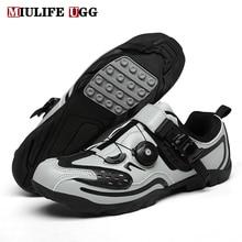 Sneakers Cycling-Shoes Footwear Road-Bike Rubber Mtb-Racing Outdoor Flat Sports Winter