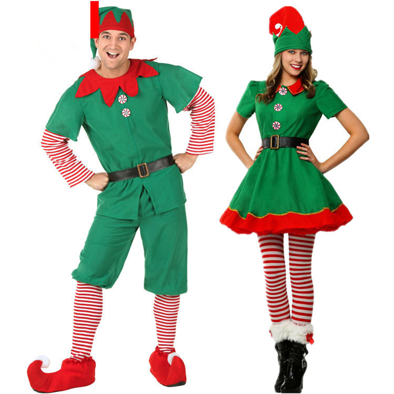 Mery Christmas Clothes Set Boys Girls Dress Kids Outfits Women Man Party Show Costume with Hat Socks Baby Christmas Clothing