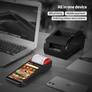 Image 2 - IssyzonePOS impresora de recibos, 58mm, pantalla táctil, PDA, Android 7,1, terminal POS de mano, PDA, WIFI, Bluetooth, 4G, PDA, compatible con OTG