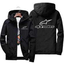 Veste hoodie Mountain Star pour hommes, jacket à capuchon, coupe-vent avec fermeture éclair, léger et décontracté, 7 XL, nouvelle collection printemps et été 2020