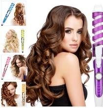 2019 Professional Hair Curler Magic Spiral Curling Iron Fast Heating Wand Electric Styler Pro Styling Tool