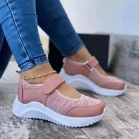 2021 Summer Women Casual Shoes Sneakers Women Shoes 2021 Mesh Breathable Platform Chaussure Femme Non SlipWomen Vulcanize Shoes 1