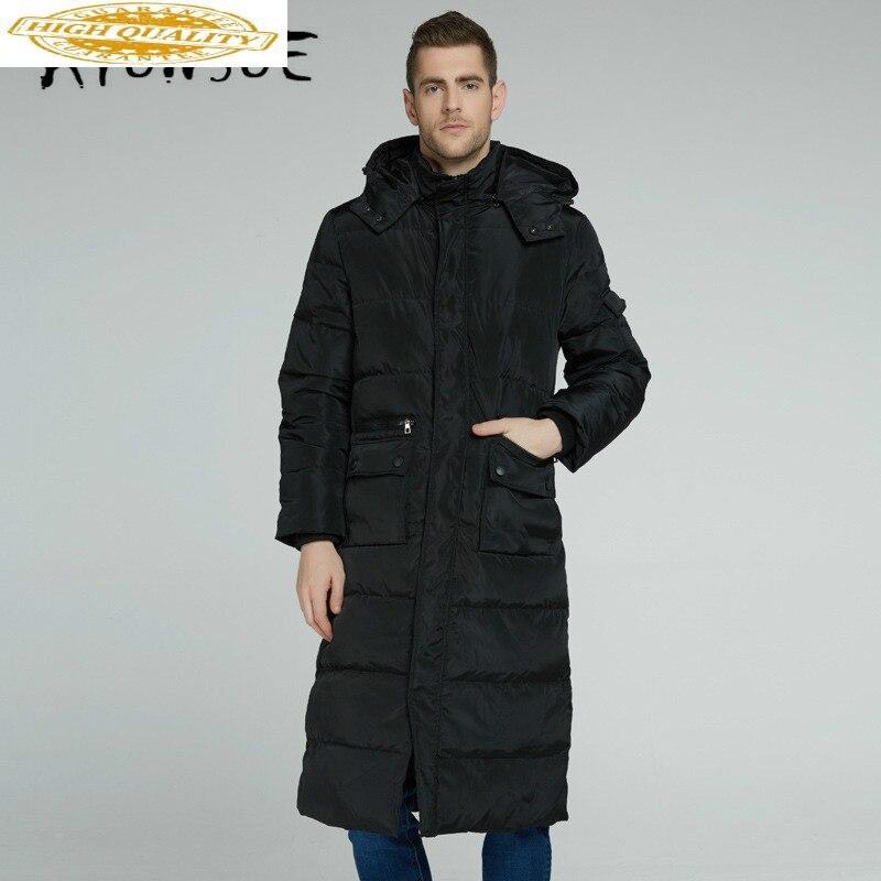 90% White Duck Down Jacket Men Korean Winter Coat Men Hooded Puffer Jacket Men Down Coat Warm Parka Abrigo YY1987