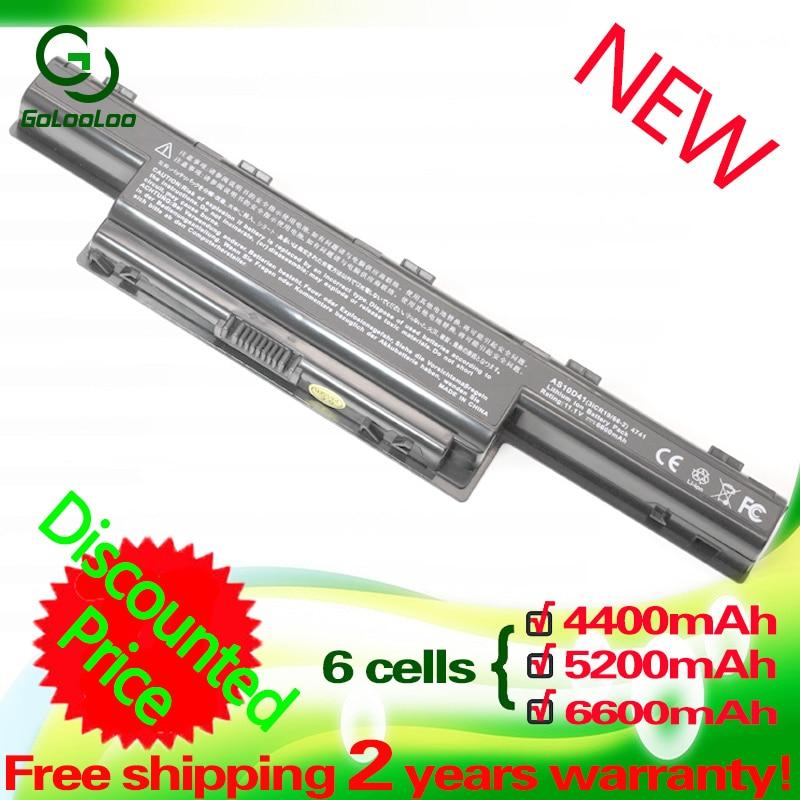 BATTERIA 6600mah per Acer TravelMate 5740-x322hbf 5740-x322of 5740-x322pf
