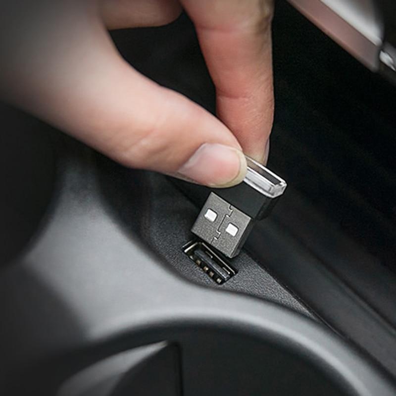 Mini LED headlights car interior for Ford Focus Fusion Escort Kuga Ecosport Fiesta Falcon EDGE/Explorer/