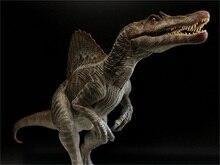 1/35 масштаб ПВХ динозавр Спинозавр узурпатор модель украшения Horned Дракон животное модель