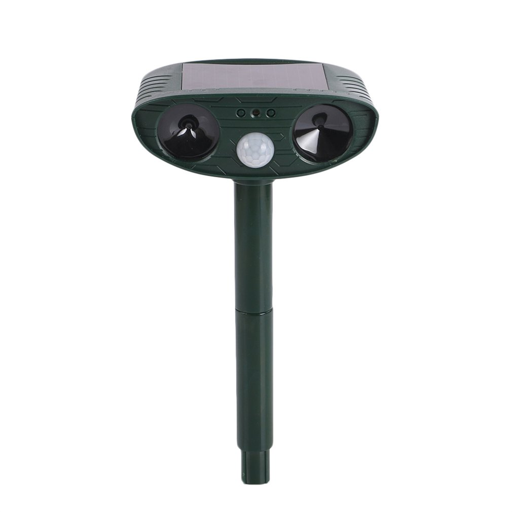 Repeller Solar-Powered Ultrasonic 511 Animal Gardening Outdoor for Dogs Cats Motion-Activated title=