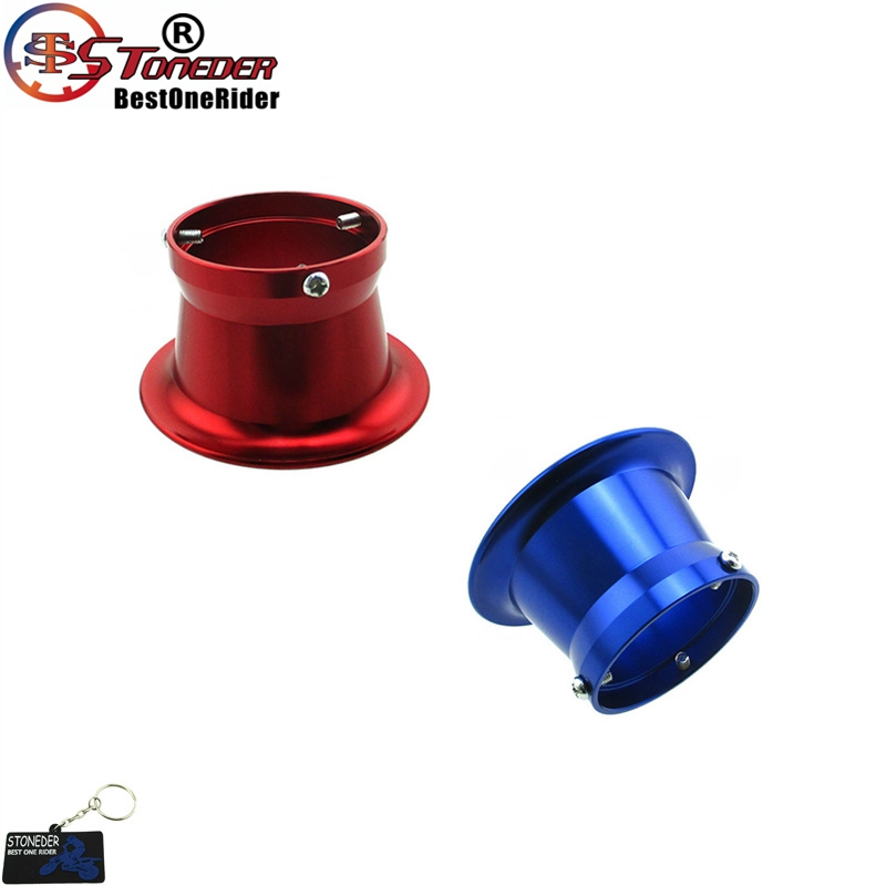 STONEDER 50mm Carb Air Filter Trumpet Velocity Stack Funnel For PWK24 PWK26 PWK28 PWK30 Carburetor