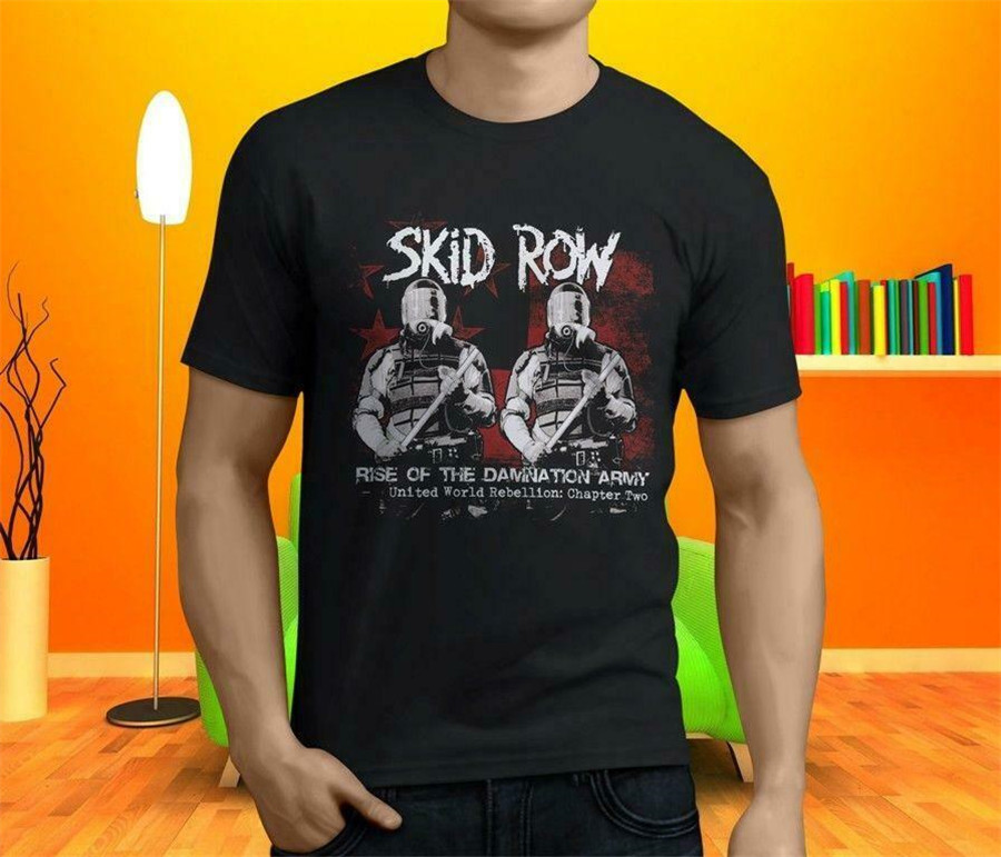 Skid Row Band LOGO Licensed Adult T-Shirt All Sizes