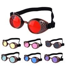 Солнцезащитные очки в винтажном стиле стимпанк очки сварочные панк очки Косплей и брендовый дизайнер#40