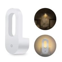 2pcs Plug-in Auto Dusk-to-Dawn Sensor Warm LED Night Lights for Bedroom Hallway Home Decoration Lamp EU/US Plug
