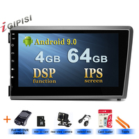 Android 9.0 Car Stere Radio Multimedia player For Volvo S60 V70 XC70 2000 2004 GPS audio navigation,Double DIN BT ISP screen