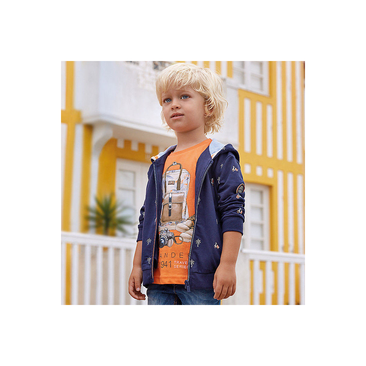 Фото - MAYORAL Hoodies & Sweatshirts 10685144 pullover jumper for boys and girls clothes children's sweatshirt Cotton Boys mayoral sweaters 10692403 pullover jumper for boys and girls jackets boys