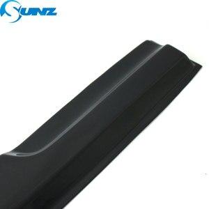 Image 4 - Black Side window deflectors rain guard door visor For VW PASSAT 2011 2018 SEDAN Wind shields wind deflectors car styling SUNZ