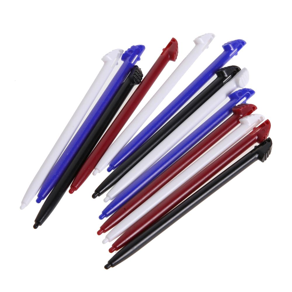 2Pcs/12pcs Black Plastic Touch Screen Stylus Pen Game Console Gamepad Pen for Nintendo 3DS N3DS XL LL Video Game Accessories