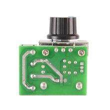 High Quality PWM 2000W AC Motor Speed Controller 50-220V 25A Adjustable Motor Speed Controller Voltage Regulator