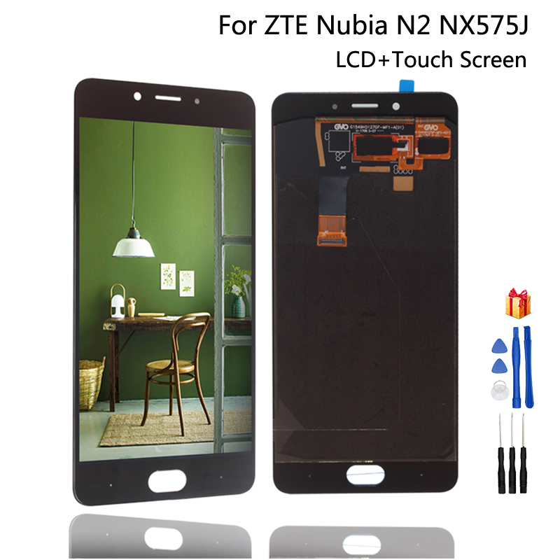 For ZTE Nubia N2 NX575J LCD Display Touch Screen Digitizer Repair Parts For ZTE Nubia N2 Screen LCD Display Assembly(China)