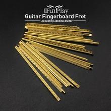 Classical-Guitar Fret-Wire-Set Guitrra-Accessories Gold Brass Width
