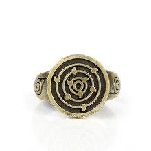 NARUTO Uchiha Itachi Ootutuki Kaguya Sharingan Ring Cosplay Prop Jewelry Rings