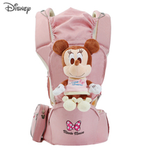 Disney Baby Carrier Infant Waist Carrier Front Facing Backpack Thickening Shoulders Comfortable Sling for Baby Travel 0-2 Years