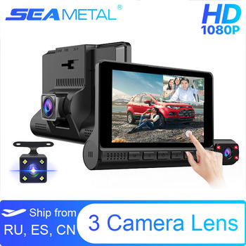 underwater night vision video fishing camera 720p 30m cable line 4 3inch lcd monitor 6 led light visual fish finder pesca tackle 4 LCD Dash Cam Car DVR 24h Parking Monitor 1080P Night Vision Dashcam Auto Video Recorder with 720P Rear Camera 3 Lens G-Sensor
