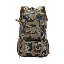 50L large capacity military camouflage tactical backpack warrior outdoor camping multi-purpose bag fishing light weight bag цены онлайн