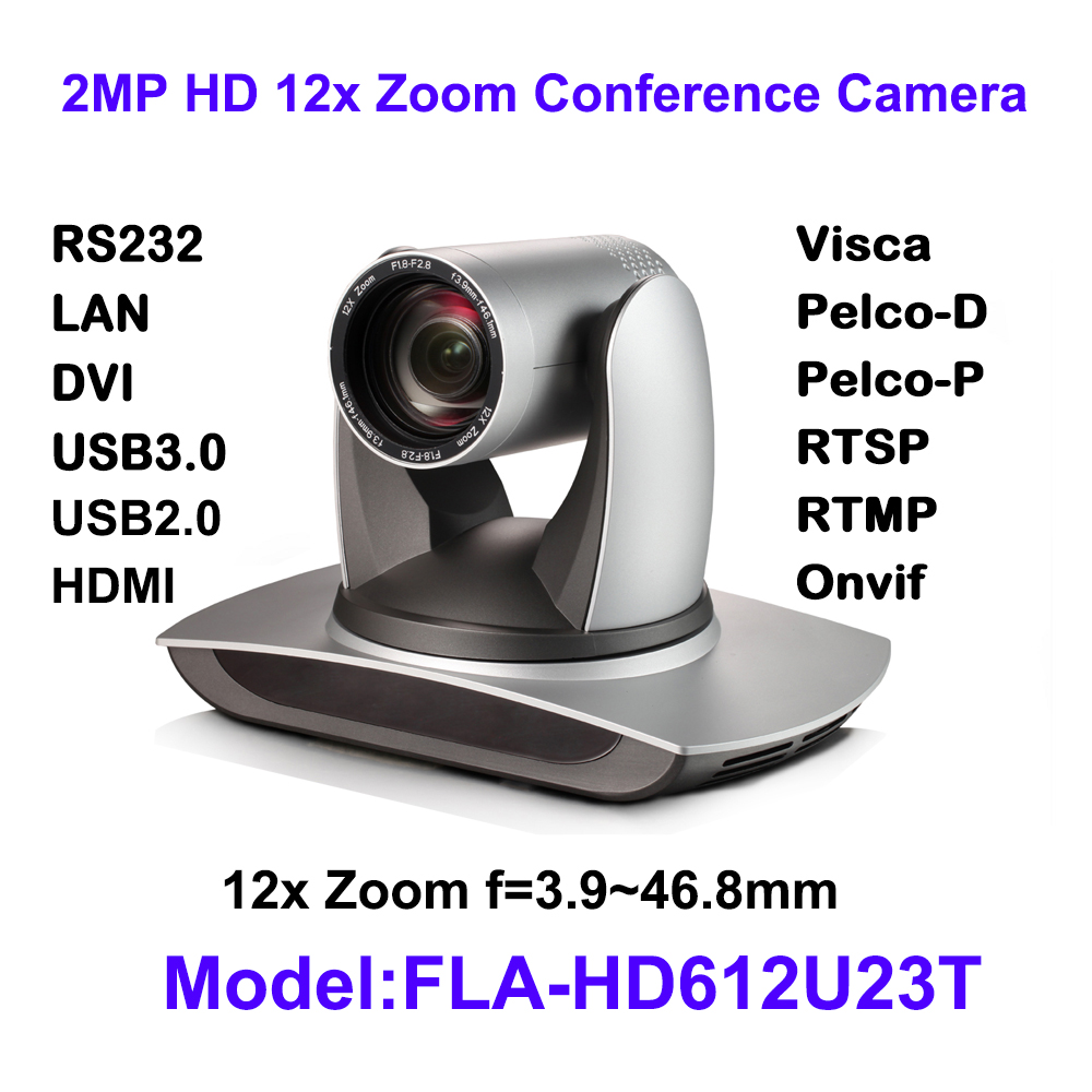 High quality Full HD Wide Angle 12x Optical zoom 1080p HDMI output ptz USB 3.0 USB2.0 IP video conference camera image