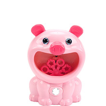 50ml Children's Piggy Bubble Machine Toy Electric Music Toy Outdoor Sports Bubbler Maker For Kids Gift Set Soap Blow Bubbles New