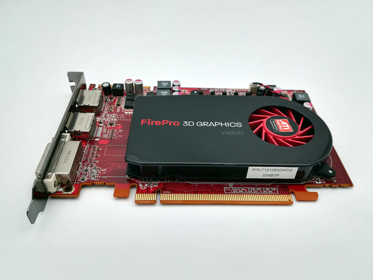 ATI FirePro V4800 1GB Professional Graphics Card / Medical Accessories / 3D Rendering / CAD Design