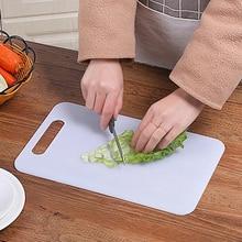 Нескользящая пластиковая разделочная доска для еды, разделочный блок, коврик, инструмент, кухонные принадлежности, принадлежности для приготовления овощей, мяса, кухонные принадлежности