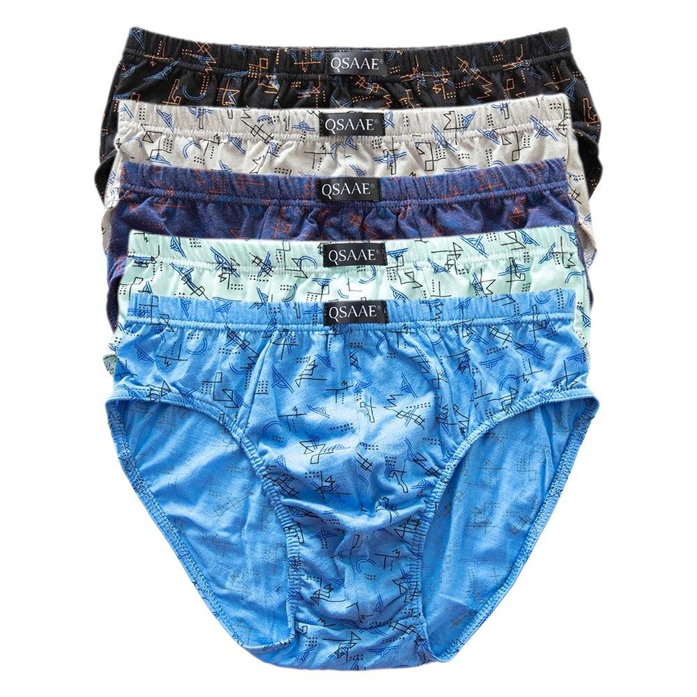 5 pçs/lote marca qsaae masculino calcinha de algodão boxers cueca masculina respirável homem boxer sólida cuecas confortáveis shorts qs101