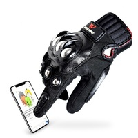 Wolfbike Cycling Gloves Touch Screen PU Leather Guantes Ciclismo Non slip Off Road Full Finger Moto Racing Luva Mtb Bike Gloves