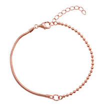 925 sterling silver bracelet Small design rose contracted web celebrity students present Women's fashion jewelry foundation web design