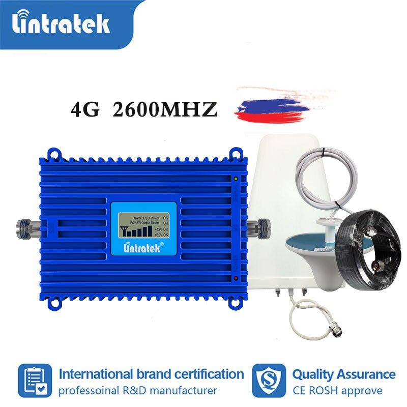 Lintratek B7 4g LTE 2600MHz Cellphone Signal Booster Cellular Amplifier  Cellular Amplifier Repeater Internet Amplifier Lte 4G