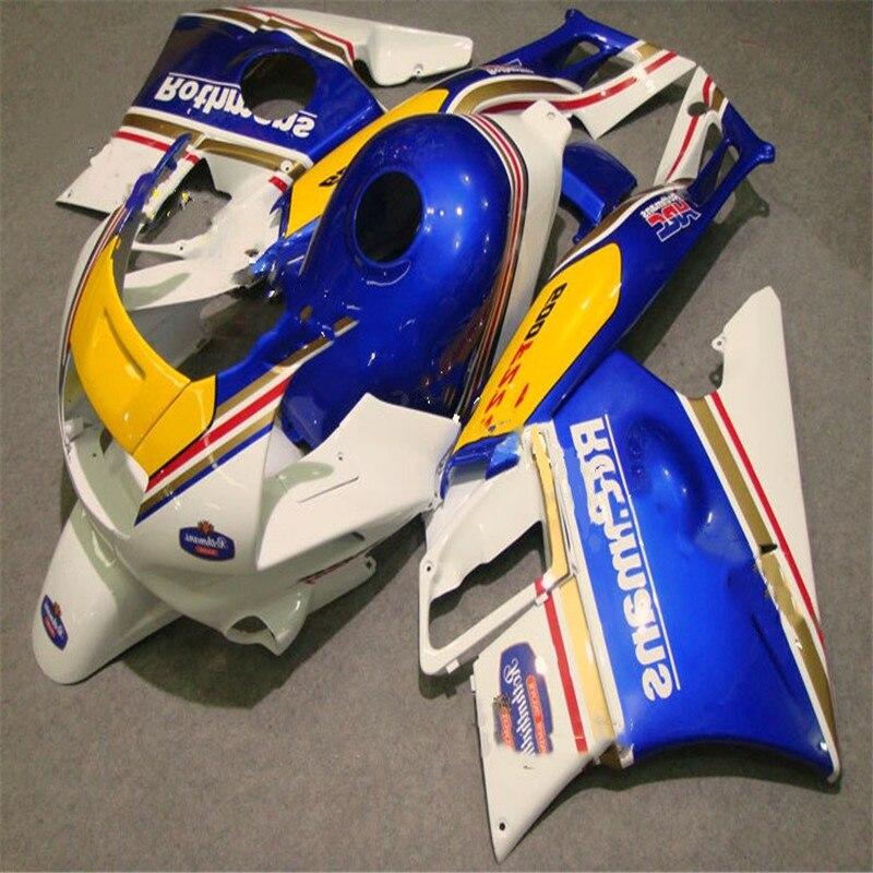Moto carénages pour HONDA CBR600 F2 91 92 93 94 CBR600F2 1991 1992 1993 1994 CBR 600 rothmans carénages ensemble