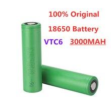 100% original VTC6 18650 3000 mAh Li ion 3,7V battery para SONY us18650 vtc6 3000 mAh battery USO juguetes herramient as