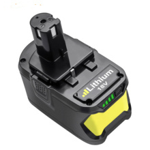 Bonacell For Ryobi 18V 4000mAh 6000mAh P108 Battery RB18 Lithium Ion Rechargeable Battery Pack Power Tools Battery Ryobi ONE+ znter battery for ryobi 18v 6000mah p108 rb18l40 lithium ion rechargeable battery pack power tools battery ryobi one
