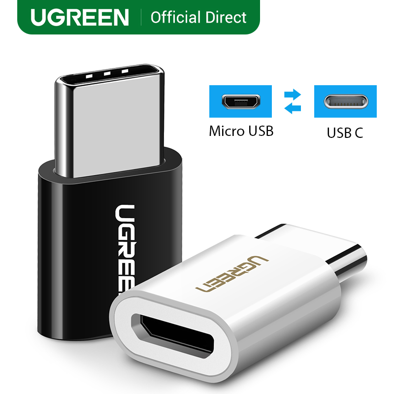 UGREEN USB Type C OTG Adapter USB C Male To Micro USB Female Cable Converters For Macbook Pro IPad Pro Mouse USB OTG Adapter