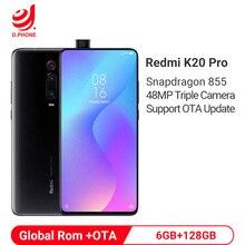 Globale Rom Xiaomi Redmi K20 Pro 6GB 128GB Snapdragon 855 Handy 48MP Triple Kamera 20MP Pop- up Kamera 4000mAh Smartphone