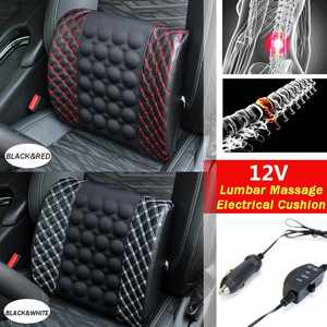 12V Car Massage Lumbar Cushion