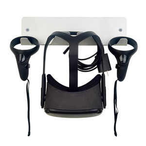 Image 2 - Wall Mount Bracket for Oculus Quest Rift Rift S for HTC Vive/Vive Pro for Valve Index VR Headset Storage Stand Universal Holder