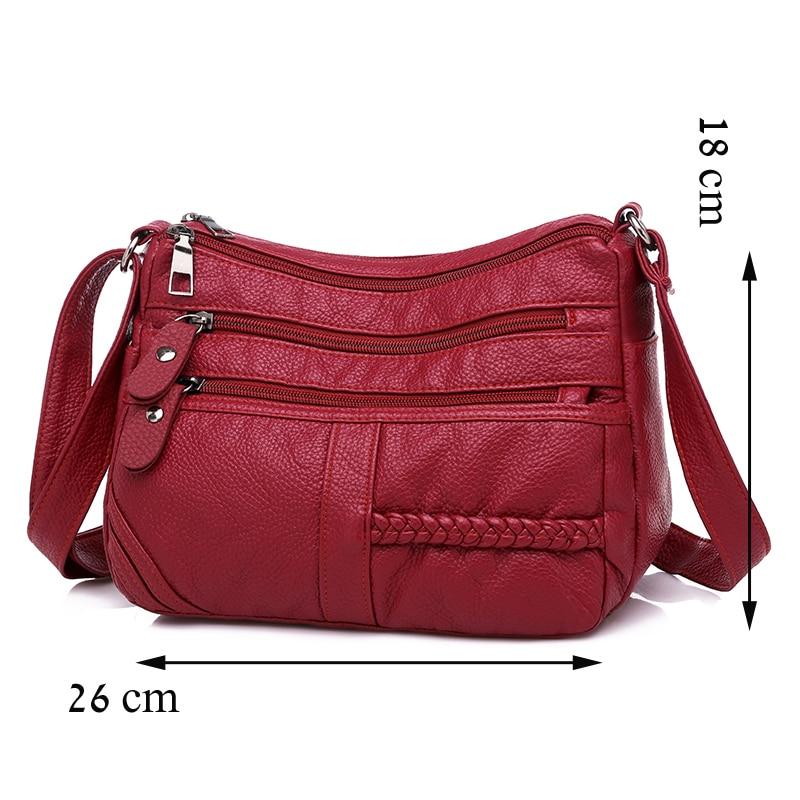 dm prime fênix tamanho da bolsa de couro vermelha