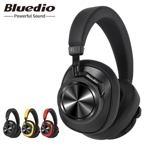 Image 1 - Bluedio T6S Bluetooth Headphones Active Noise Cancelling  Wireless Headset for phones and music with voice control