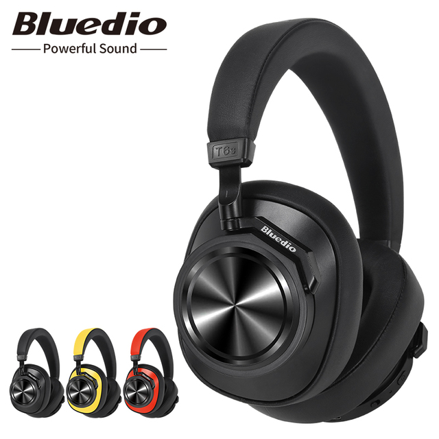 Bluedio T6S หูฟังบลูทูธไร้สายสำหรับโทรศัพท์เพลงควบคุมเสียง
