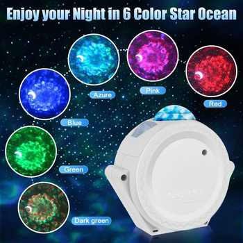 Night Lights Star Projector Lamp for Home Wide Angle Projection Nigh Light Nice Gift for Kids Bedroom Decor Dropshipping